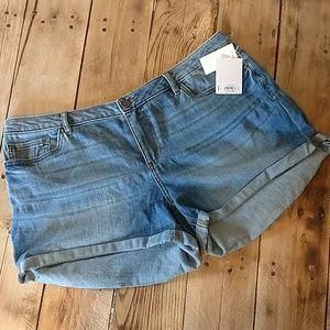 NWT LC Denim Shorts